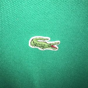 Lacoste Shirts - Green Lacoste polo